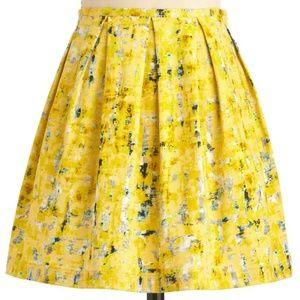 Jack by B.B. Dakota Process of Lemon-ation Skirt